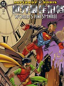 超人小子/罗宾 世界最佳拍档三漫画